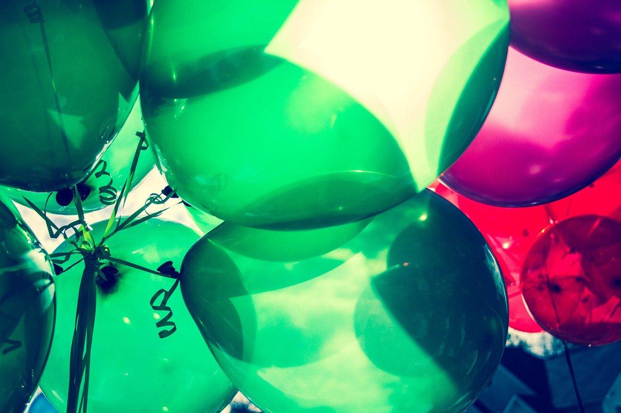 Luftballon Traube Party